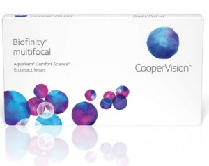 soczewki progresywne Biofinity Multifocal